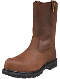 Mens Revolver Pull-On Steel-Toe Boot