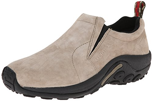 Casual Professional Shoes - Merrell Men's Jungle Moc Slip-On Shoe,Taupe,12 2E US