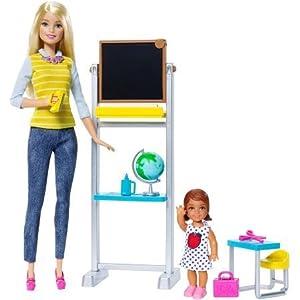 Barbie Career Teacher Doll and Playset - 41itGsOKQiL - Barbie Career Teacher Doll and Playset