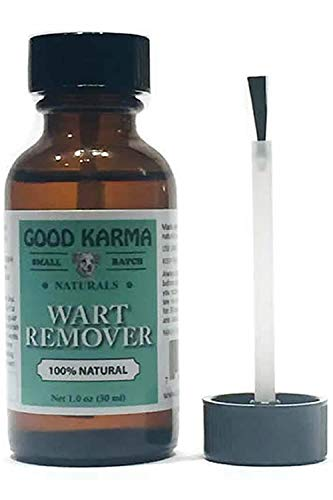 GOOD KARMA NATURALS All Natural Wart Remover for...