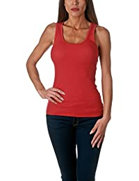 Women's Tank Top Cotton Ribbed
