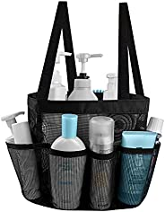 Mesh Shower Caddy Basket Portable for College Dorm Room Essentials, Bath Caddy Shower Bag Organizer Tote 8 Sto