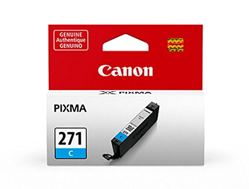 Canon CLI-271 Cyan Ink, Compatible to MG7720,MG6820,MG6821,MG6822,MG5720,MG5722,MG5721 - Cyan Compatible Canon Ink