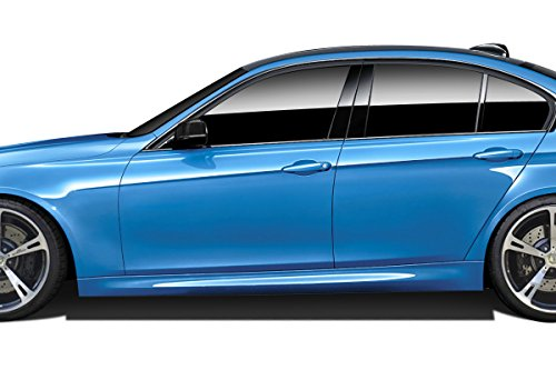 Couture ED-ASI-586 Urethane M3 Look Side Skirts - 2 Piece Body Kit - Compatible For BMW 3 Series 2012-2018