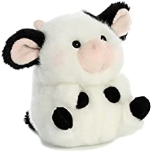 Aurora World Rolly Pet Daisy Cow Plush