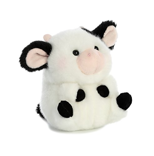 Aurora World Rolly Pet Daisy Cow Plush