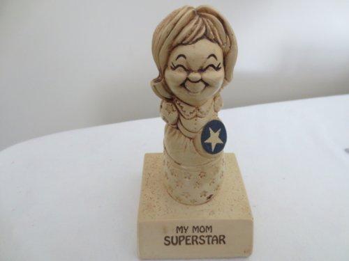 My Mom Superstar ... 1972 Resin Statue Award