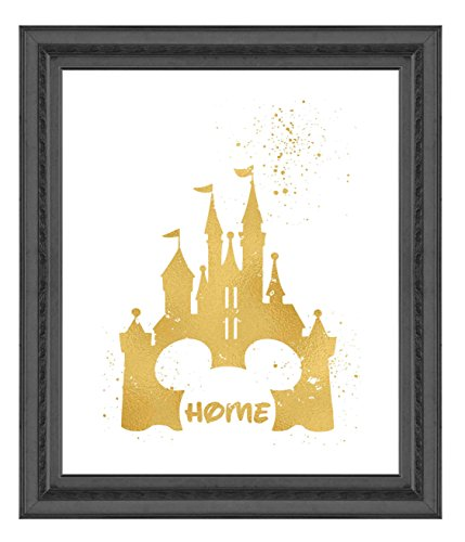 Inspired by Disney Castle and Home - Poster Print Photo Quality - Made in