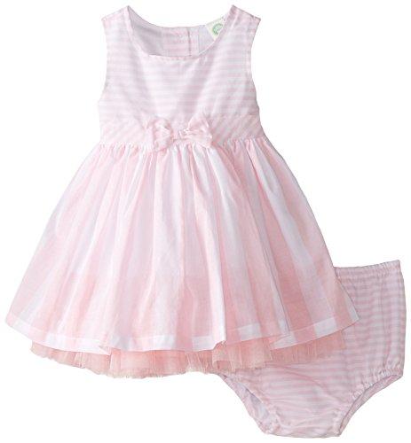 Little Me Baby Girls' Dress Set, Pink Stripe, 12 Months