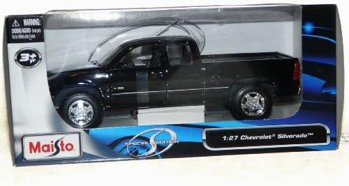 [해외]Maisto Chevrolet Silverado Special Edition Pickup Truck 127 Scale Diecast Model Vehicle Black / Maisto Chevrolet Silverado Special Edition Pickup Truck 127 Scale Diecast Model Vehicle Black
