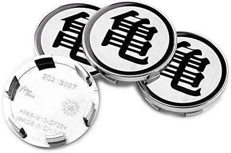 4個外径54mm内径49mmシルバー亀のラベリングABSカーホイールセンターハブキャップQ45 Q60 Q70 G20 G37 I30(交換#40342-AU511)