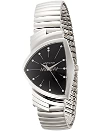 Ventura L Black Dial Mens Watch H24411232