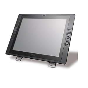 Wacom Cintiq 21UX - Tableta ordenador (LCD, 54,1 cm (21,3 pulgadas), cables con conector USB, adaptadores externos DVI/VGA), color negro