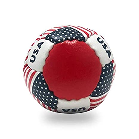 Great for Indoor /& Outdoor Practice Less Bounce /& Minimal Rebounds. Lax Sak 1 Pack Maryland Flag Lacrosse Training Ball Same Weight /& Size as a Regulation Lacrosse Ball