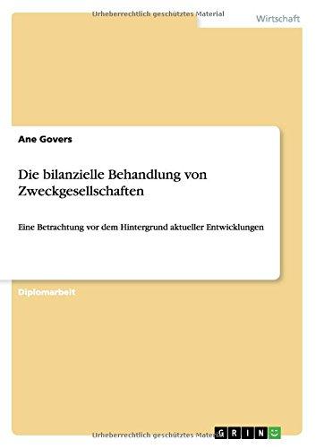 Die bilanzielle Behandlung von Zweckgesellschaften (German Edition) Text fb2 book