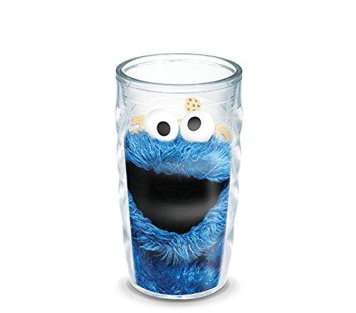 Tervis Sesame Street Cookie Monster 10 oz Wavy Tumbler ()