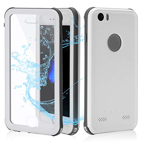 (Cellphone Waterproof Case | Underwater Full Body Snow-Proof Shock-Proof Dirt-Proof Hard Cover |Touch ID Available | Access to All Functions)