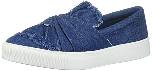 MIA Women's Zoe Fashion Sneaker, Midnight Blue, 10 M US