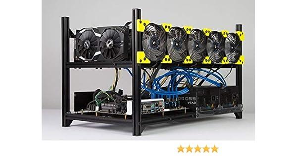Rig Minero de Criptomoneda Profesional: Amazon.es: Electrónica