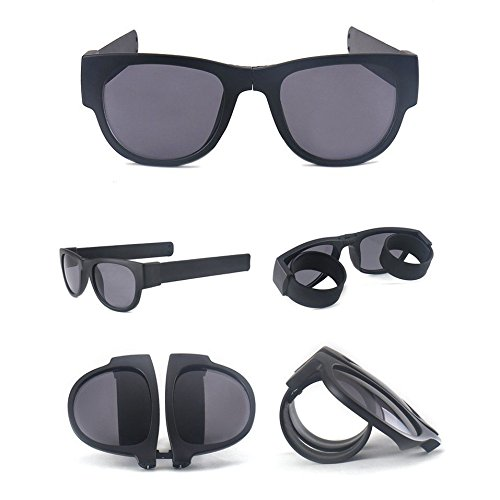 Fashion Slapsee Polarized Folding sunglasses - Flexible sunglasses with - Sunglasses Slap