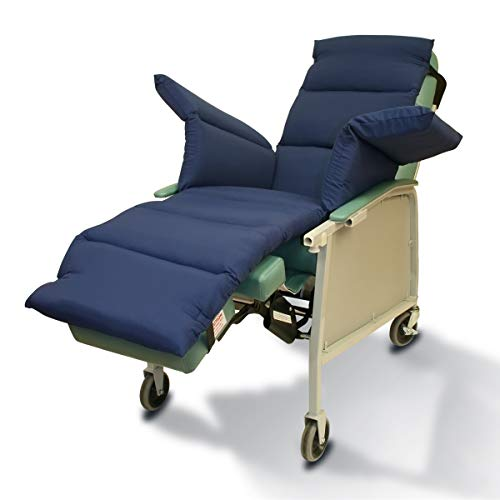 NYOrtho Geri-Chair Comfort Seat Cushion Color: Navy Taslon Water-Resistant 72'L x 18'W
