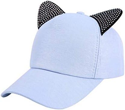 Fat Mashroom Gorra de béisbol Mujer, diseño de Kawaii, Azul, Talla ...