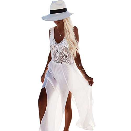 2018 Women Sunblock Clothes-Lace Chiffon Swimwear-Sunshine Preventing-Bikini Beach Swimming Accessories Sample (Bikini Accessory)