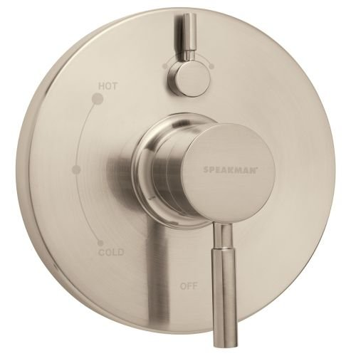Speakman CPT-1400-P-BN Neo Pressure Balance Valve Trim Only, Brushed Nickel by Speakman