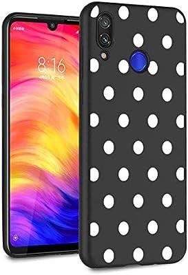 Amazon.com: Eouine Xiaomi Redmi Note 7 - Carcasa de silicona ...