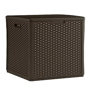 Suncast 60 Gallon Resin Outdoor Patio Storage Box
