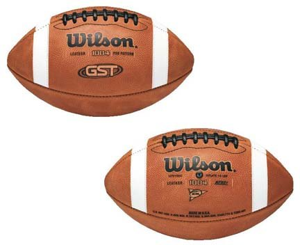NCAA® 1004 GST™ Pro Pattern Football from Wilson by Wilson