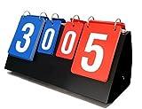 SINNAYEO Portable Scoreboard Volleyball Basketball Table Tennis Set Score
