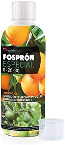 Probelte Jardín Fertilizante Engorde Frutos Fosprón Especial Abono PK 20-30 con Micronutrientes 500 CC: Amazon.es: Jardín