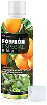 Probelte Jardín Fertilizante Engorde Frutos Fosprón Especial Abono PK 20-30 con Micronutrientes 500 CC