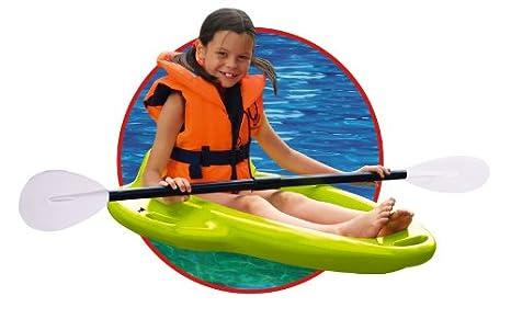 Big Bobby Boat grün Big 800056777 116 x 61 x Kinderboot mit Paddel und Helm
