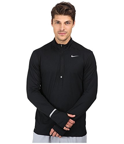 Men's Nike Dry Element Running Top Black Size Small