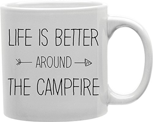 Imaginarium Goods CMG11-IGC-LIFEFIRE Life Is Better Around The Campfire Mug from Imaginarium Goods Co.