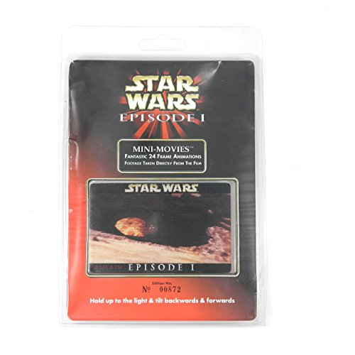 (1999 Star Wars Episode 1 Lenticular Mini Movie Card - Podrace 2 )
