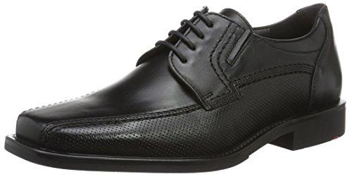 Lloyd Kalani Extra-Weit, Zapatos de Cordones Derby para Hombre Schwarz (Schwarz)