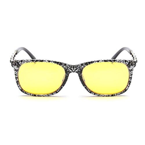 LENSTAR DSG800038C6 UV400 Retro women's Sunglasses,Classic Full - Paul Perreira