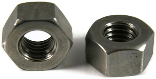 Heavy Nut (Heavy Hex Nuts 18-8 Stainless Steel - 1/4-20 x 1/2 Flats Qty-100)