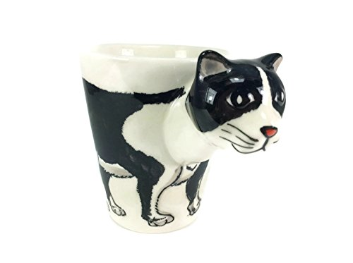 Black Cat Mug Enamel Cartoon Painted Milk Glass Coffee cup Cute Mug Pottery Mugs Mug Set Anime Tea Cup Giant Mug Spirit Animal for (Bike Buoy Mug)