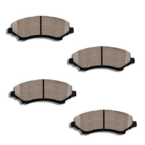 TOPEX Front Ceramic Brake Pads For Lexus GS300 GS400 GS430 IS300 LS400 SC300 SC400 SC430 ()