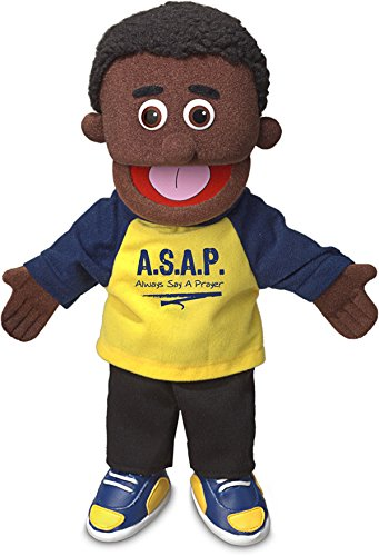 14-Always-Say-a-Prayer-Black-Boy-Christian-Ministry-Hand-Puppet