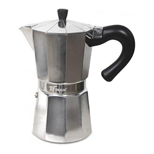 Cafetera clasica italiana 3 tazas cafetera de aluminio ...