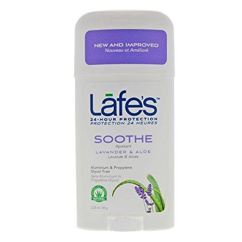 [Lafe's Deodorant Stick, Lavender & Aloe, 2.25 Ounce (Packaging May Vary)] (Lafes Hemp)