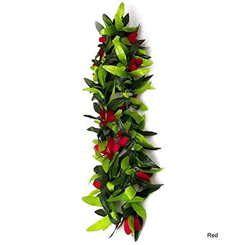 Luau Party Favors Lei Garland Tropical Hawaiian Artificial Flowers for Beach]()