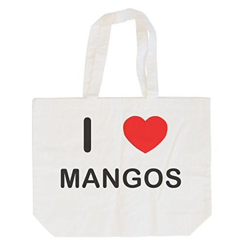 Cotton Shopper Bag Mango - 1