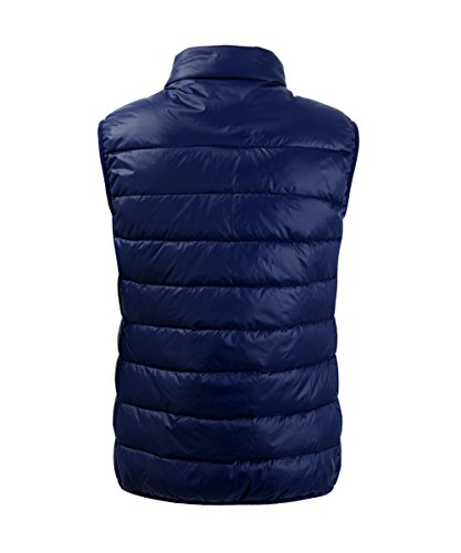 White M2C Packable Collar Ultra Vest Stand Light Mens Down Navy HxawPHTq