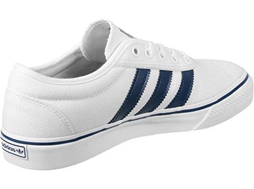 Adidas Adi-ease, Baskets Unisexes - Adulte, Blanc (ftwbla / Azumis / Gum4), 42 Eu